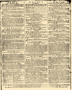 London Daily Advertiser, March 14, 1734, p. 4