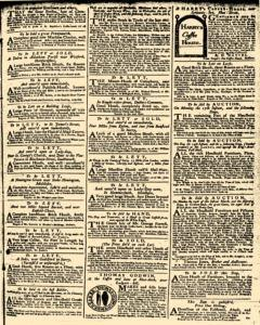 London Daily Advertiser, March 14, 1734, p. 3