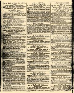 London Daily Advertiser, March 18, 1734, p. 2