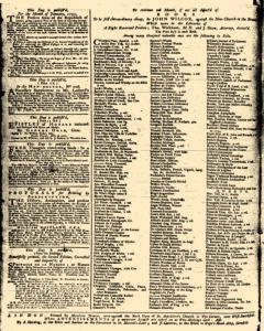 London Daily Advertiser, March 18, 1734, p. 4