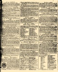 London Daily Advertiser, March 18, 1734, p. 3
