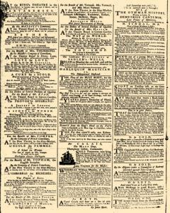 London Daily Advertiser, March 20, 1734, p. 2