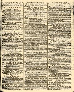 London Daily Advertiser, March 25, 1734, Page 3