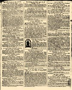 London Daily Advertiser, April 09, 1734, Page 3