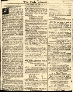 London Daily Advertiser, May 08, 1734, Page 1