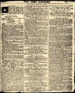 London Daily Advertiser, May 17, 1734, Page 1