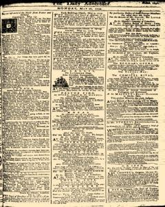 London Daily Advertiser, May 20, 1734, Page 1