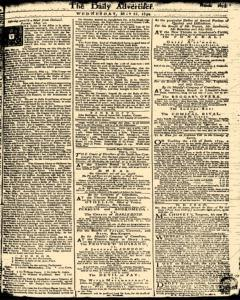 London Daily Advertiser, May 22, 1734, Page 3