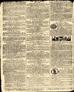 London Daily Advertiser, August 24, 1734, p. 2