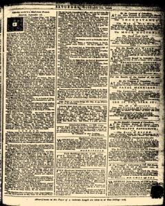 London Daily Advertiser, October 12, 1734, Page 1