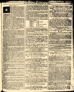London Daily Advertiser, October 23, 1734, Page 1