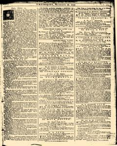 London Daily Advertiser, October 24, 1734, Page 1
