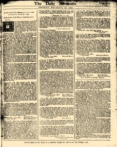 London Daily Advertiser, December 27, 1734, Page 1