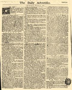London Daily Advertiser, August 09, 1754, Page 1