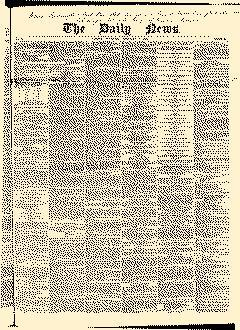London Daily News, February 07, 1846, Page 1