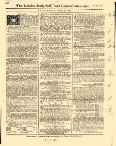 London Daily Post And General Advertiser, April 09, 1743, Page 1