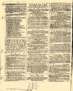 London Daily Post and General Advertiser, April 14, 1743, p. 2