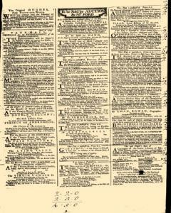 London Daily Post and General Advertiser, April 14, 1743, p. 3