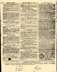 London Daily Post and General Advertiser, April 14, 1743, p. 4