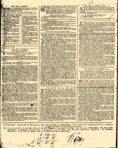 London Daily Post and General Advertiser, May 06, 1743, Page 4