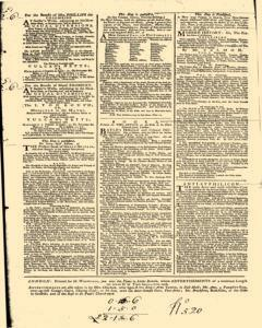 London Daily Post and General Advertiser, September 10, 1743, Page 2