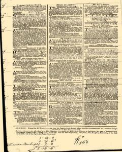 London Daily Post and General Advertiser, November 02, 1743, Page 2