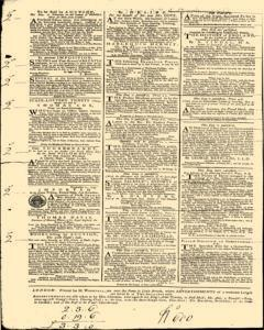 London Daily Post and General Advertiser, November 14, 1743, Page 3