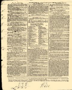London Daily Post and General Advertiser, November 18, 1743, Page 2