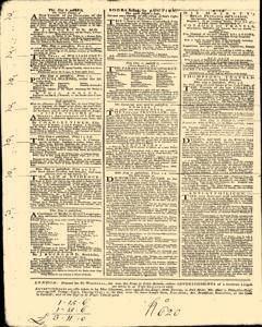 London Daily Post and General Advertiser, November 22, 1743, Page 2