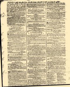 London Daily Post and General Advertiser, November 30, 1743, Page 2