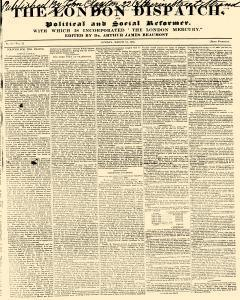 London Dispatch and Political and Social Reformer