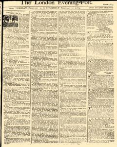 London Evening Post, February 05, 1765, Page 1