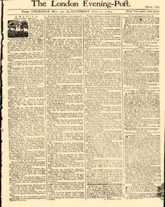 London Evening Post newspaper archives