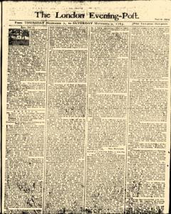 London Evening Post, November 07, 1765, Page 1