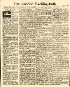 London Evening Post, November 28, 1765, Page 1