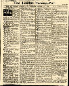 London Evening Post, December 07, 1765, Page 1