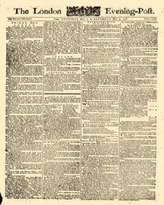 London Evening Post, May 07, 1772, Page 1
