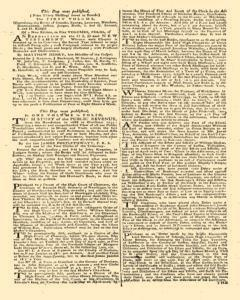 London Gazette, March 20, 1762, Page 3