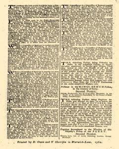 London Gazette, May 11, 1762, Page 4