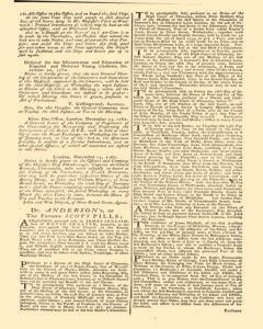 London Gazette, December 21, 1762, Page 3