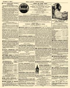 London Ladys Newspaper And Pictorial Times