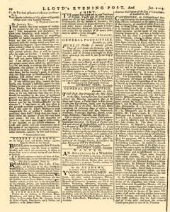 London Lloyd Evening Post, January 02, 1764, Page 2
