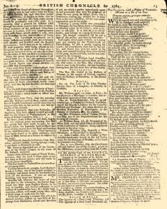 London Lloyd Evening Post, January 02, 1764, Page 5
