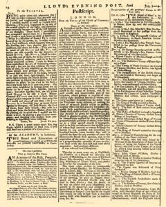 London Lloyd Evening Post, January 02, 1764, Page 6