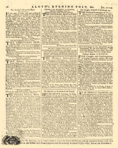 London Lloyd Evening Post, January 02, 1764, Page 8