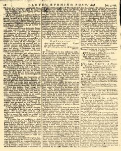 London Lloyd Evening Post, January 04, 1764, Page 2
