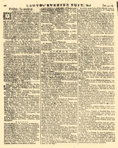London Lloyd Evening Post, January 04, 1764, Page 4
