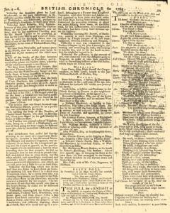 London Lloyd Evening Post, January 04, 1764, Page 5