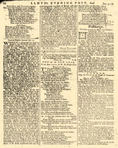 London Lloyd Evening Post, January 04, 1764, Page 6