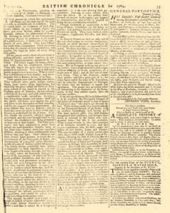 London Lloyd Evening Post, January 09, 1764, Page 3